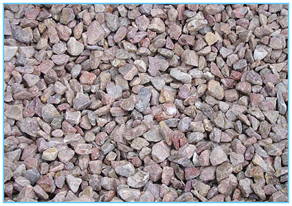 Coloured Stones For Gardens Landscape gardening supplies delivered same day by turf suppliers 20mm devon pink chippings workwithnaturefo